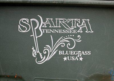 Bluegrass road trip. Sparta, TN, Bluegrass USA.