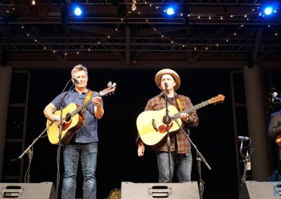 Eric & Leigh, The Gibson Brothers (with half a Jesse Brock), Outer Banks Bluegrass Island Festival 2017, Manteo, NC.
