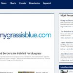 MyGrassisBlue.com Featured On Bluegrass Today