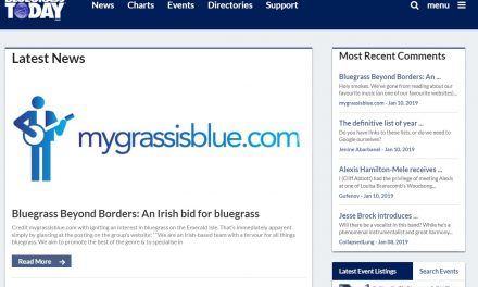mygrassisblue.com On Bluegrass Today