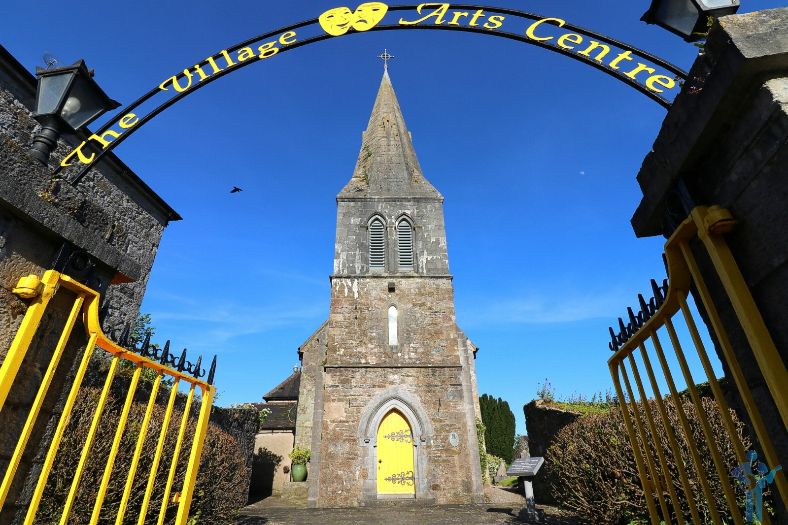 A musician's favourite, & the 2nd of 6 churches. The Village Arts Centre, Kilworth, Co. Cork. May 13, 2019.