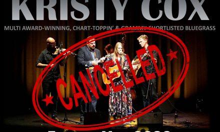 Kristy Cox Europe 2020 | * Postponed *